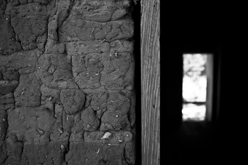 The doorframe of the Officers' Quarters at Camp Rucker in the Chiricahua Mountains.