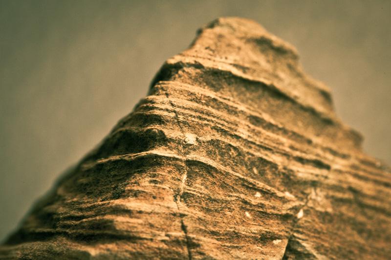 An artificial peak. (A rock.)